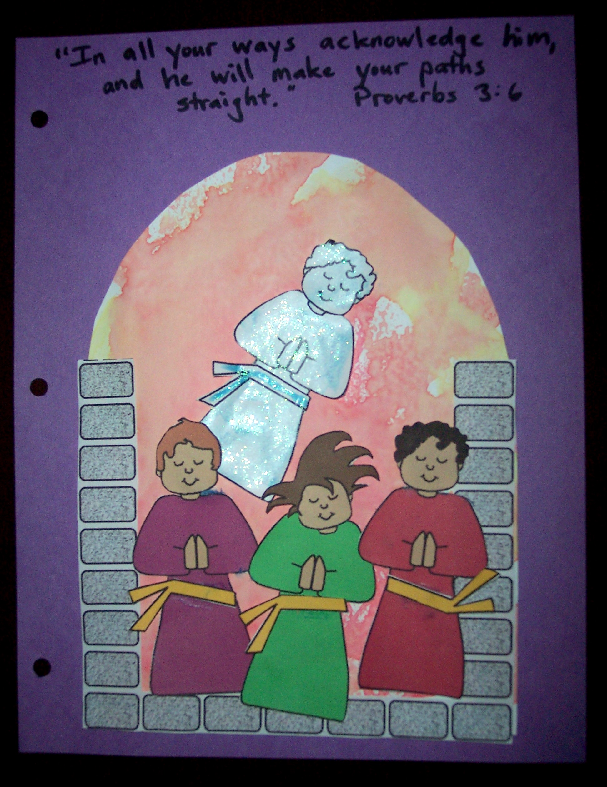 Meshach Holiday Coloring Pages Shadrach And Abednego Page In The Fiery Furnace His
